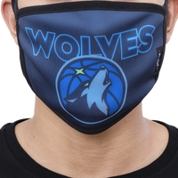 Pro Standard NBA Logo Face Mask - Minnesota Timberwolves - Navy