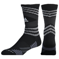 adidas Speed Mesh Team Crew Socks - Black / White