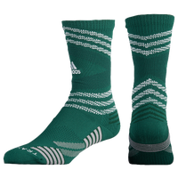 adidas Speed Mesh Team Crew Socks - Dark Green / White