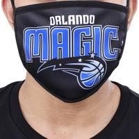 Pro Standard NBA Logo Face Mask - Orlando Magic - Black