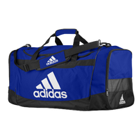adidas Defender III Large Duffel - Blue / Black