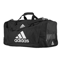 adidas Defender III Large Duffel - Black / White