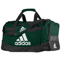 adidas Defender III Medium Duffel - Dark Green / Black