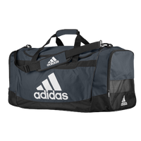 adidas Defender III Large Duffel - Grey / Black