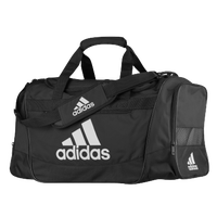 adidas Defender III Medium Duffel - Black / White