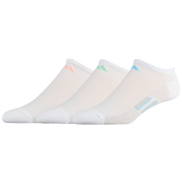 adidas climacool Superlite Stripe 3 Pack No Show - Women's - White / Orange