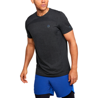 Under Armour Rush Seamless HG Fitted T-Shirt - Men's - Black