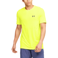 Under Armour Seamless Knit Wave T-Shirt - Men's - Yellow