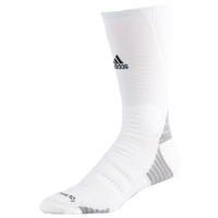 adidas Alphaskin Maximum Cushioned Crew - White