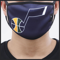 Pro Standard NBA Logo Face Mask - Utah Jazz - Navy