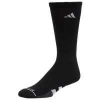 adidas 3 Pack Cushion Crew Socks II - Men's - Black