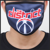 Pro Standard NBA Logo Face Mask - Washington Wizards - Navy
