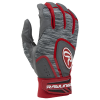 Rawlings 5150 Batting Glove - Men's - Red / Grey
