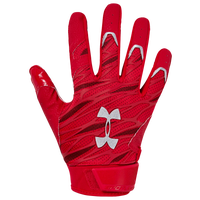 Under Armour Spotlight NFL Receiver Gloves - Men's - Red