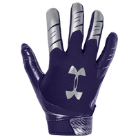 Under Armour F7 Receiver Gloves - Men's - Purple