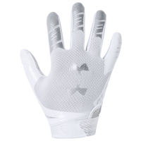Under Armour F7 Receiver Gloves - Boys' Grade School - White