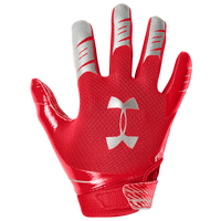 Under Armour F7 Receiver Gloves - Boys' Grade School - Red