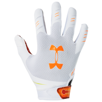 Under Armour F7 LE Receiver Gloves - Boys' Grade School - White