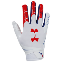 Under Armour F7 Novelty Receiver Gloves - Boys' Grade School - White