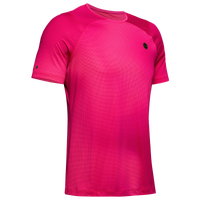 Under Armour Rush Fitted T-Shirt - Men's - Pink