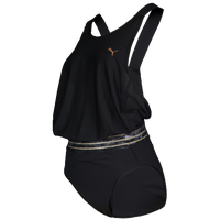 PUMA Explosive Leotards - Women's - All Black / Black