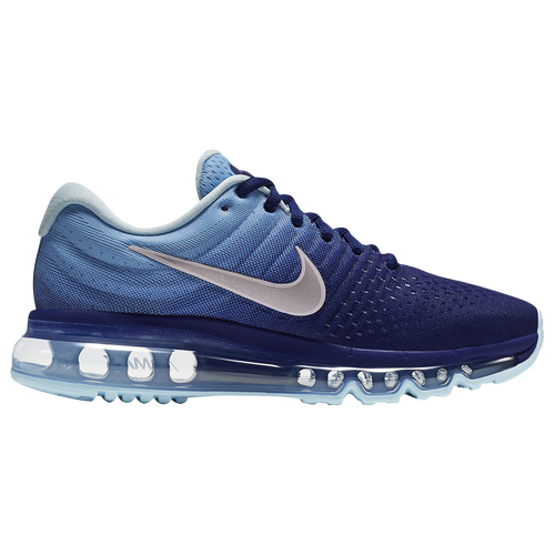 Nike Air Max 2017 - Girls' Grade School - Navy / White
