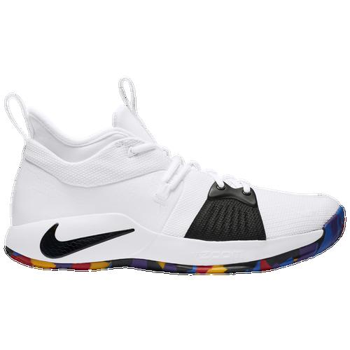 ab62617b76aa ... nike pg 2 mens basketball shoes george paul white multi