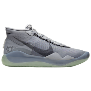 Nike Zoom KD12 - Men's - Durant, Kevin - Wolf Grey/Black