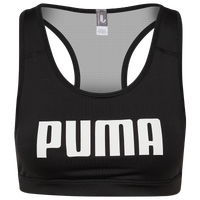 PUMA 4Keeps Mid Impact Bra - Women's - Black