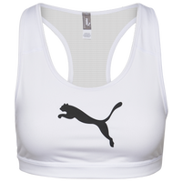 PUMA 4Keeps Mid Impact Bra - Women's - White