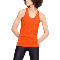 Under Armour Seamless Racerback Tank - Women's - Orange