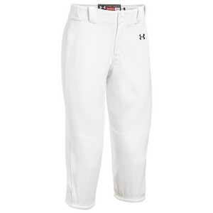 Under Armour Team Icon Knicker Pants - Women's - White/Black