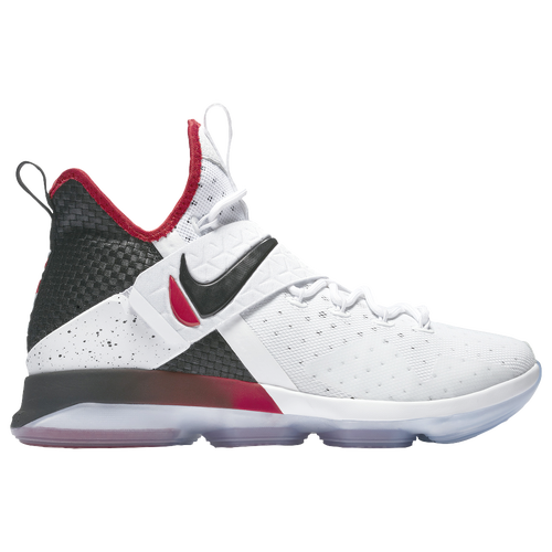Nike LeBron 14 - Men's - Basketball - Shoes - James, Lebron -  White/Black/University Red
