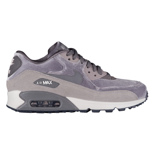 Nike Air Mujeres Max 90 Lx Velvet Mujeres Air Zapatillas Gris  Gris  Blanco 371dee