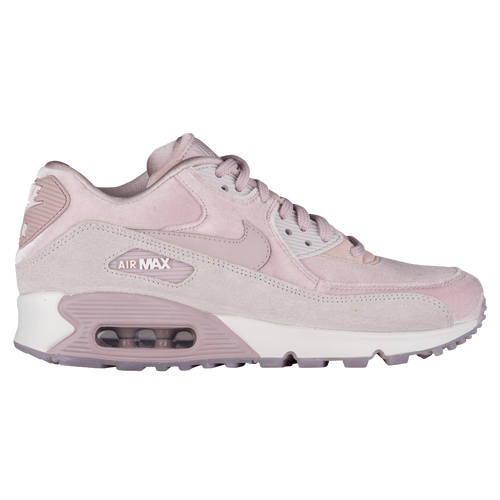 210cd55ecb694 ... new zealand nike air max 90 lx velvet womens running shoes pink grey  white 24edc e767f