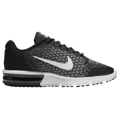 6cd8f23cca7fd3 Nike Air Max Sequent 2 - Women s - Running - Shoes - Pure  Platinum Black Cool Grey Wolf Grey