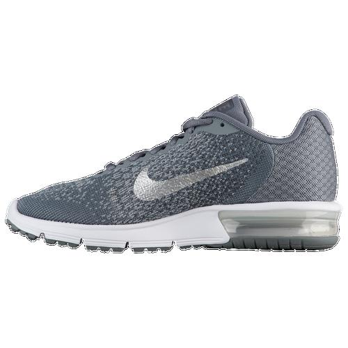 Nike Air Max Sequent 2 Women's Cool Grey/Metallic Silver/Dark Grey 52465008