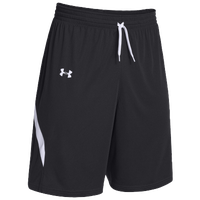 Under Armour Team Clutch Reversible Shorts - Women's - Black / White