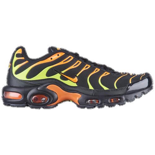 aeecb023b6e6a Nike Air Max Plus - Men s - Casual - Shoes - Black Volt Total Orange Hot  Punch