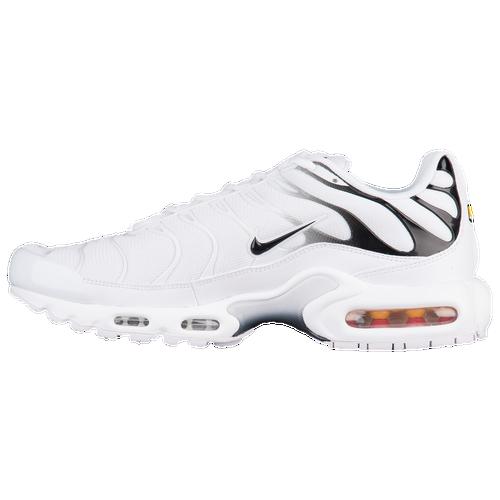 0b0a9ef060 Nike Air Max Plus - Men's - Casual - Shoes - White/Black/White