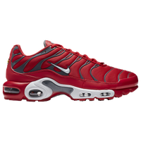 red and grey nike air max plus