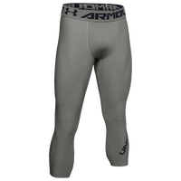Under Armour HG Armour 2.0 3/4 Compression Tights - Men's - Grey