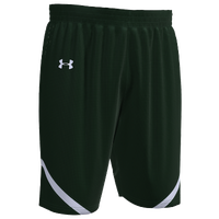 Under Armour Team Team Clutch 2 Reversible Shorts - Men's - Dark Green