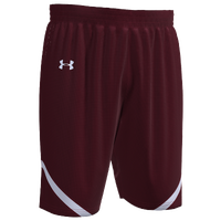 Under Armour Team Team Clutch 2 Reversible Shorts - Boys' Grade School - Maroon