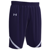 Under Armour Team Team Clutch 2 Reversible Shorts - Boys' Grade School - Purple