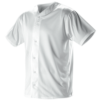 Badger Sportswear YOUTH FAUX MESH BASEBALL JERSEY - Youth - White