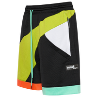 "PUMA FS Basketball 9"" Knit Shorts - Men's - Black"