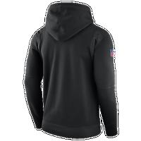 Nike NFL Player Therma Pullover Hoodie - Men s - Carolina Panthers - Black    Light Blue f183c55ef