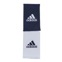 adidas Interval Large Reversible Wristband - Men's - Navy / White