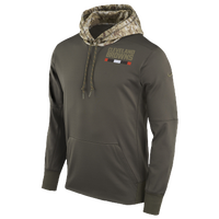 4ece117ce Nike NFL Salute To Service Therma PO Hoodie - Men s - Cleveland Browns -  Olive Green